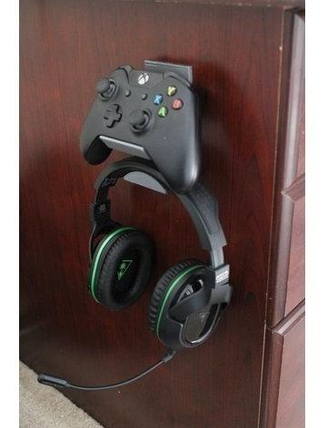 soporte de pared para control y audifonos diadema xbox one