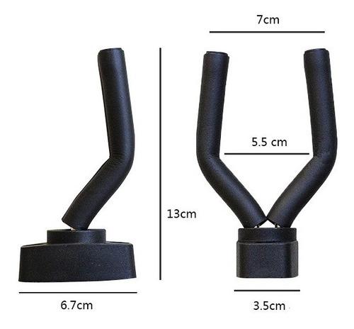 soporte de pared para guitarra acústica / eléctrica brazo