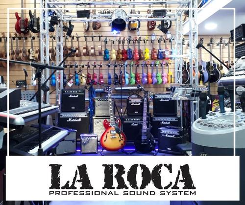 soporte de pared para guitarra o bajo con tornillos la roca
