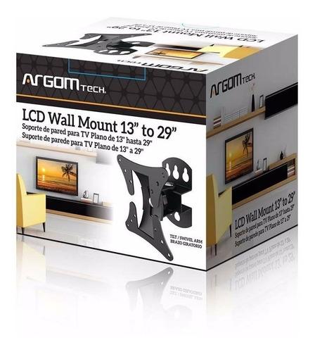 soporte de pared para pantalla 13-29 argom arg-br-1501