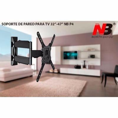 soporte de pared tv nb p4 32'' 55' north bayou envío gratis