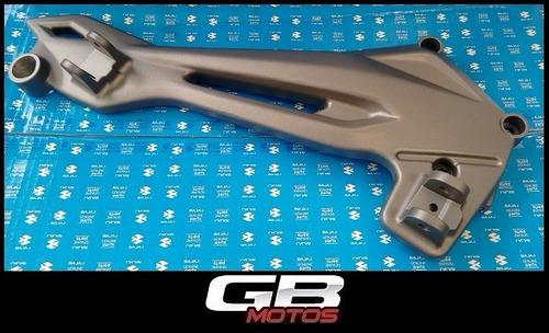 soporte de pedalines derecho bajaj dominar 400 ! gb motos !