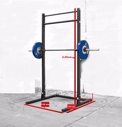 soporte de pesas, squat, crossfit, saco de box, envio gratis