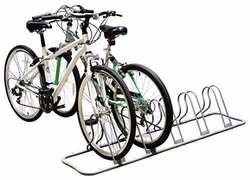 soporte de piso 5 bicicletas estacionamiento oferta