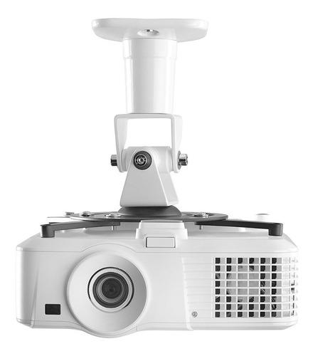 soporte de proyector de techo o pared giro 180° hasta 15 kg