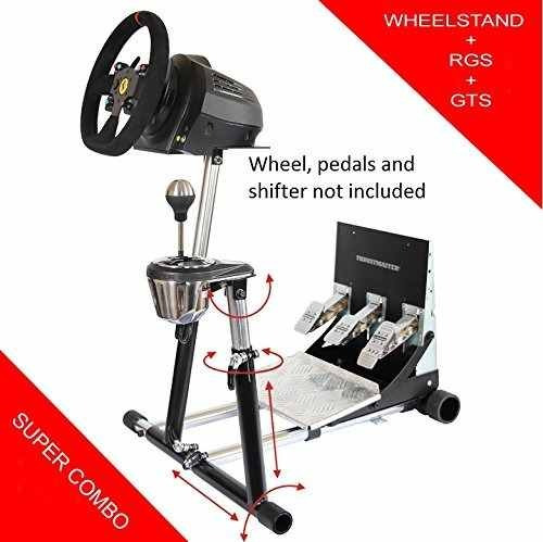 soporte de rueda supertx deluxe con rgs y gts. thrustmaster