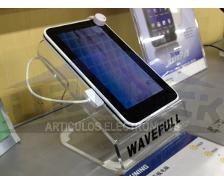 soporte de seguridad con alarma para tablet