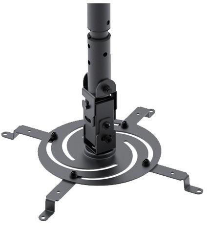 soporte de techo para proyector klip 610 inclinacion y gira