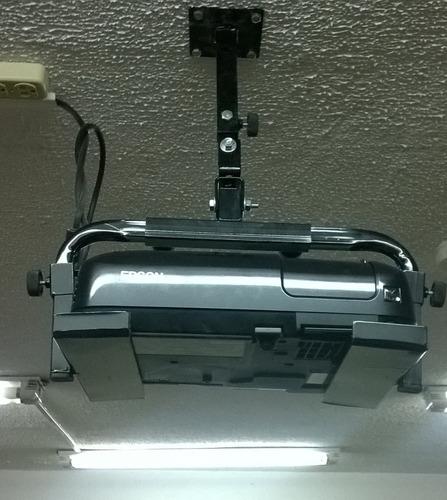 soporte de techo (pared) giratorio para proyector: universal