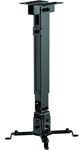 soporte de techo/pared video beam proyector, jd spp-01 negro