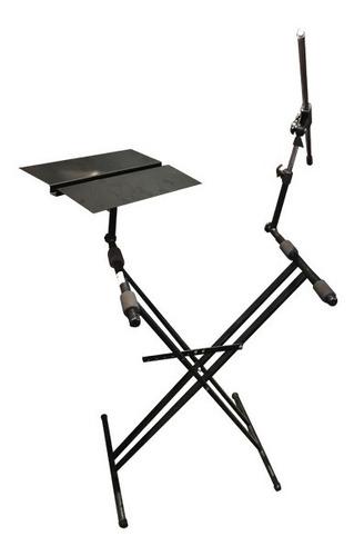 soporte de teclado + notebook + soporte de microfono 18219
