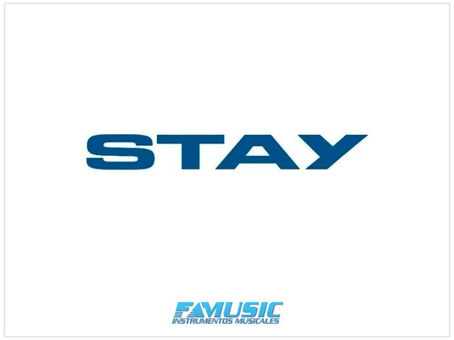 soporte de teclado stay slim 1100-01 aluminio c/ funda
