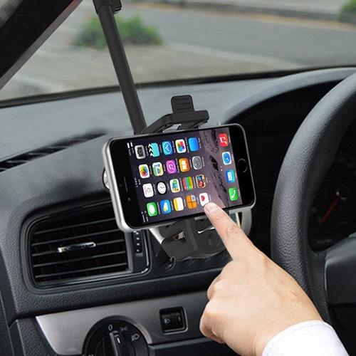 soporte de teléfono de coche de aleación, iwo + envio gratis