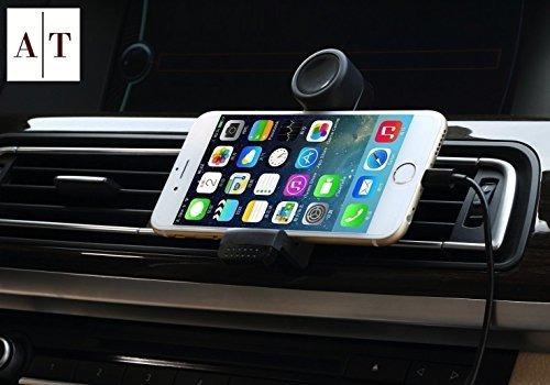 soporte de telefono de lujo para respiraderos de aire de aut