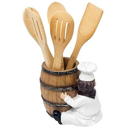 Soporte Decorativo Para Utensilios De Cocina Diseño De Chef