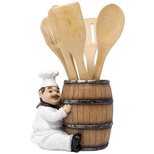 Soporte Decorativo Para Utensilios De Cocina Diseño De Chef ...