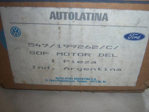 soporte delantero motor sin aire acondicionado ford orion 94