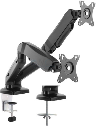soporte doble monitor kpm 312 / 13-27  klip neumatico
