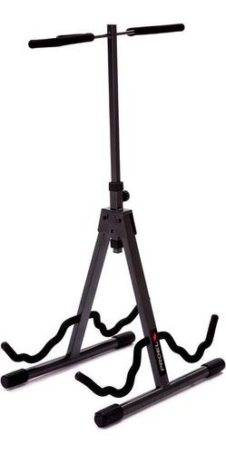 soporte dos guitarras o bajos atril proel fc820 envio full