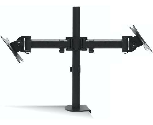 soporte dual de escritorio para monitores 13~29, jd spm-1102