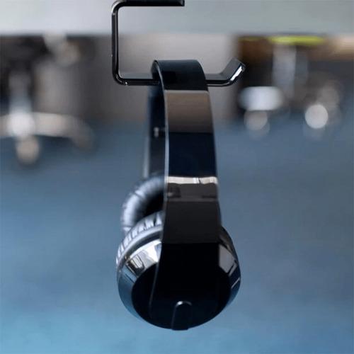 soporte dual para audífonos montaje pared/escritorio
