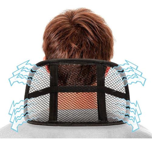 soporte ergonómico cuello nuca silla carro gerente mnr