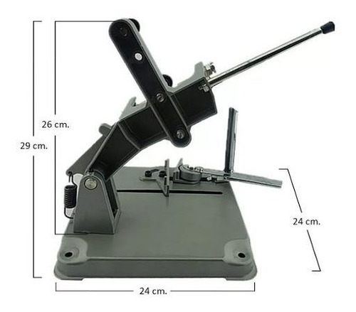 soporte esmeril angular tronzadora 4 1/2 pulgadas