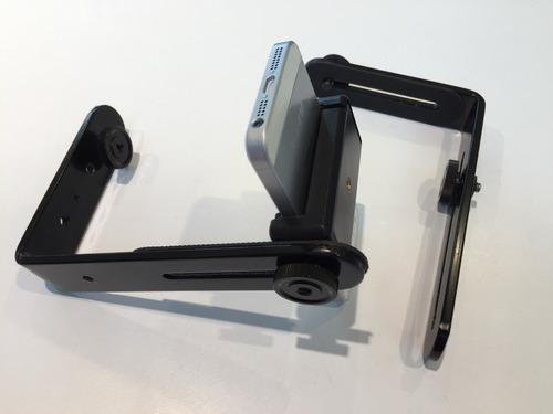 soporte estabilizador celular smartphone doble l