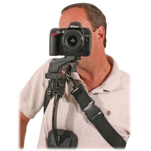 Soporte estabilizador de hombro camaras y videocamaras vv4 for Estabilizador de camara