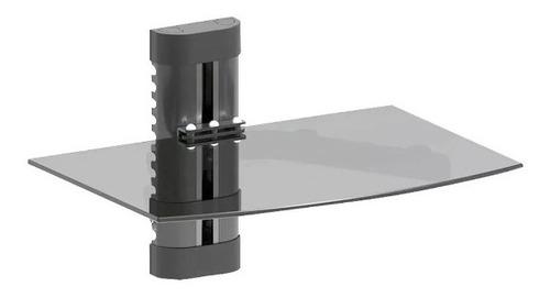 soporte estante flotante dvd consola deco dvd291 de vidrio