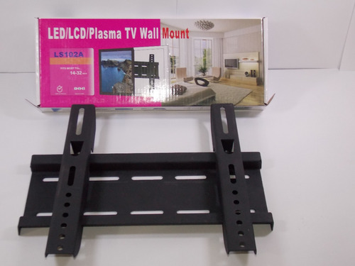 soporte fijo para tv de 14 -32  led lcd plasma+obseq 5 años