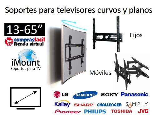 soporte fijo para tv de 37 40 42 50 55 65 pulgadas