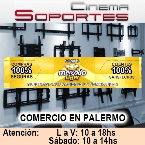 soporte fijo tv led 15 21 24 32 40 42 43 cs2022 inclina