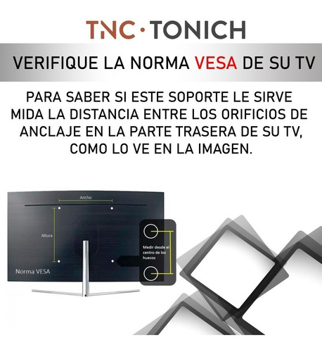 soporte fijo tv led 24 27 32 39 40 42 43 200x200 inclinacion