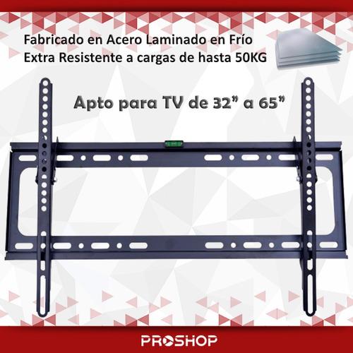 soporte fijo tv led 32 39 40 42 50 60 65 600x400 inclinacion