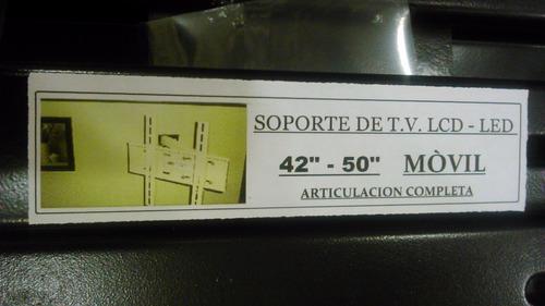 soporte fijo tv led lcd y smart de 42 46 47 50 55 pulgadas