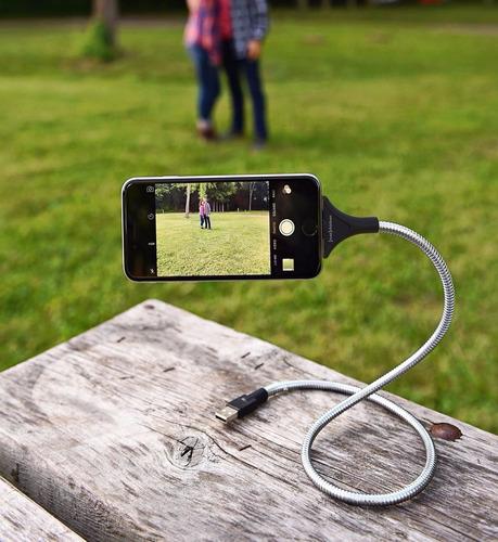 soporte flexible cargador para celulares (iphone - android)