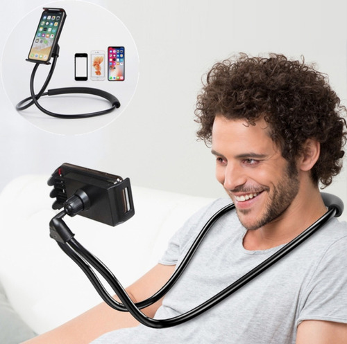 soporte flexible celulares iphone 6 samsung huawei tablet