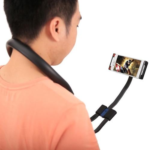 soporte flexible celulares tablet iphone 6 samsung j7 huawei