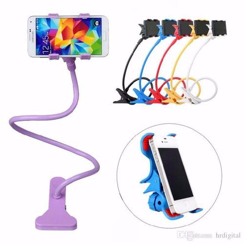soporte flexible sujetador para celulares universal