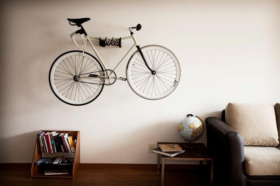 Soporte gancho bicicleta pared bike rack en - Gancho bicicleta pared ...