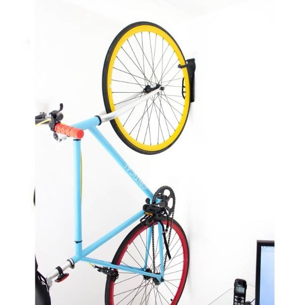 Soporte gancho colgar bicicleta pared 30kgs facil - Gancho bicicleta pared ...