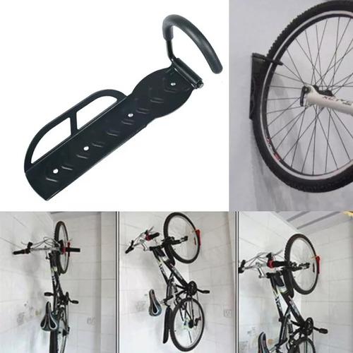 soporte gancho porta bicicleta pared colgador