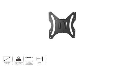 soporte ghia lcd/led a pared 23-42 max 30k slim