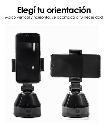 soporte giratorio usb recargable seguimiento celular tik tok