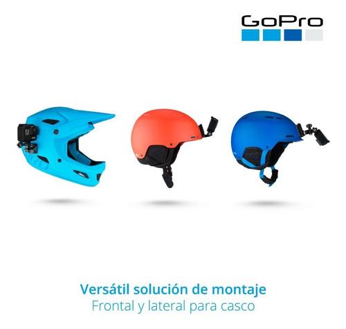 soporte gopro helmet front + side mount ahfsm-001 pc