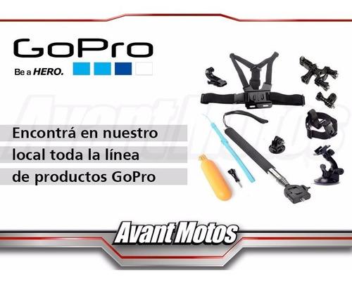 soporte gopro para baston roll bar avant motos