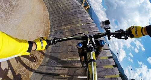 soporte  gopro para bicicleta,moto,tubo, y gopro hero 2,3,4