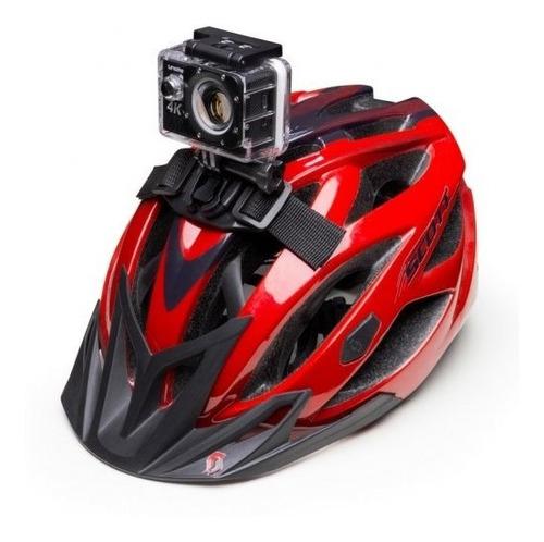 soporte gopro para casco de bicicleta