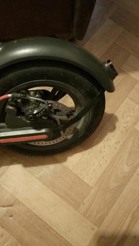 soporte guardabarro trasero xiaomi scooter m365